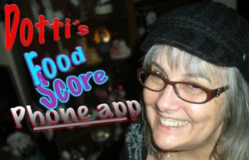 Dotti's Food Score iPhone App
