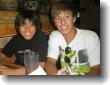 Kai and Justin