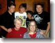 Front Al & Dotti, Rear Glenn, Justin, Kai, LeRoy