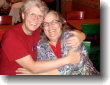 My wonderful, wonderful Dotti, and her lucky husband Al